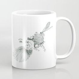 Dreams of Flight and Flowers  Coffee Mug