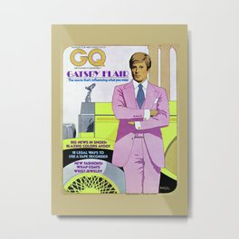 Robert Redford GQ Magazine Cover Metal Print