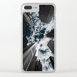 Sky is Rough Clear iPhone Case