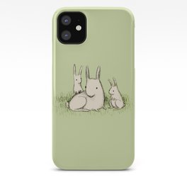 Bunny Family iPhone Case