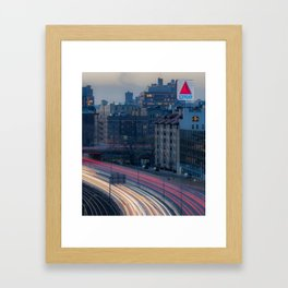 Kenmore View Framed Art Print