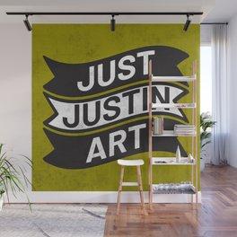 Just Justin Art Wall Mural