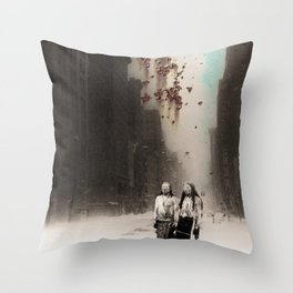 Transience Throw Pillow