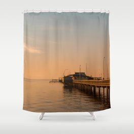 Sun Sets on Fairhope Shower Curtain