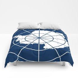 Flag of Antarctica Comforters