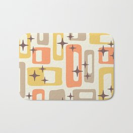 Mid Century Modern Geometric Abstract 133 Bath Mat