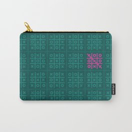 Tic Tac Toe Pattern Carry-All Pouch