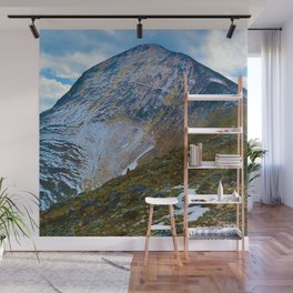 Pyramid Mountain Summit Hike in Jasper National Park, Canada Wall Mural