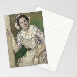 Jacques-Émile Blanche - Portrait de Madeleine Pissard en Roxane (l'amour medecin) Stationery Cards