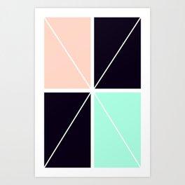 Elegant design Art Print