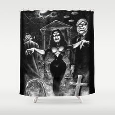 Vampira Plan 9 Shower Curtain