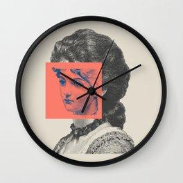 Sunday Girl Wall Clock