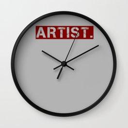 artist. Wall Clock