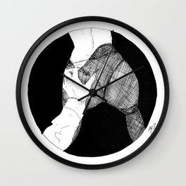 Grasping Wall Clock