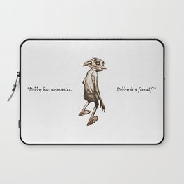 Dobby is a free elf Laptop Sleeve