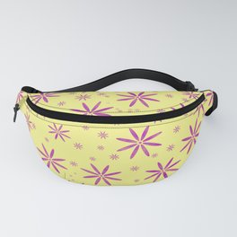 Purple flowers Fanny Pack