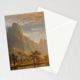 Albert Bierstadt - Valley of the Yosemite Stationery Cards