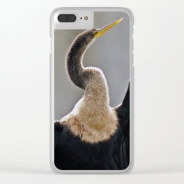 Anhinga or Snakebird Clear iPhone Case