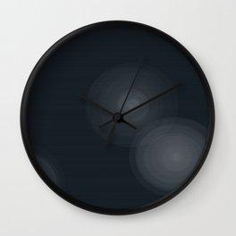 Star Beams Wall Clock