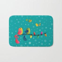 Fly High, My Babies - Merry Christmas Bath Mat