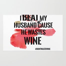 Wine wasted Rug