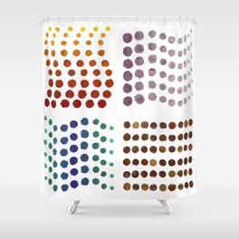 The Missing Element Shower Curtain