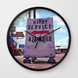 Kirby Service Wall Clock