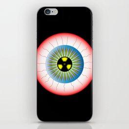 Radioactive Eye iPhone Skin