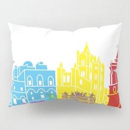Palermo skyline pop Pillow Sham