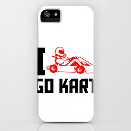 I Go Kart iPhone Case