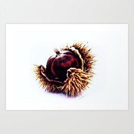 Prickly Little Bitch Art Print