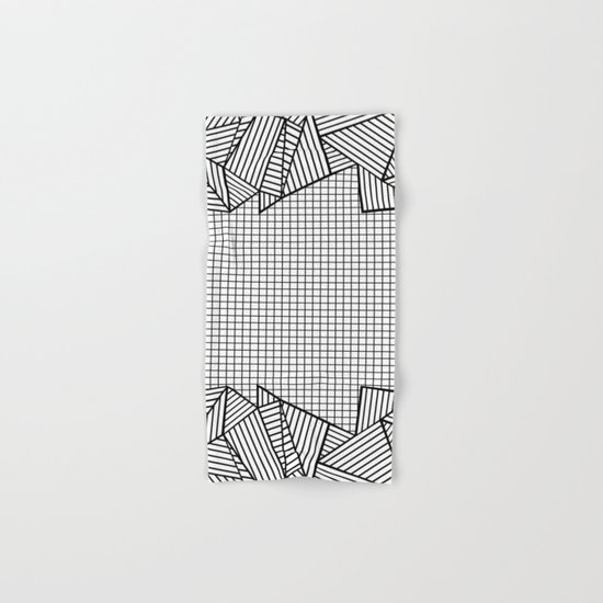 Grids and Stripes Hand & Bath Towel