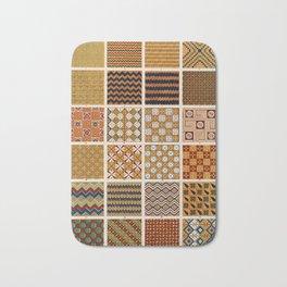 Egyptian Patterns, Vintage Design Bath Mat