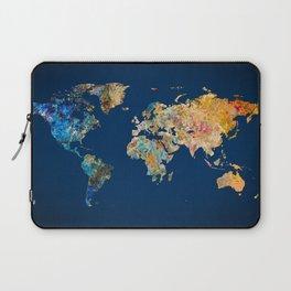 World Map 11 Laptop Sleeve