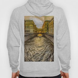 Swan Canal in St. Petersburg Hoody