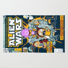 Alien Wars Rug