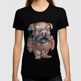 Slave Tumble in Chastity T-shirt