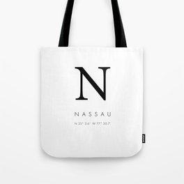 25North Nassau Tote Bag