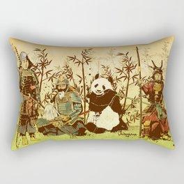 Hanging Out Rectangular Pillow