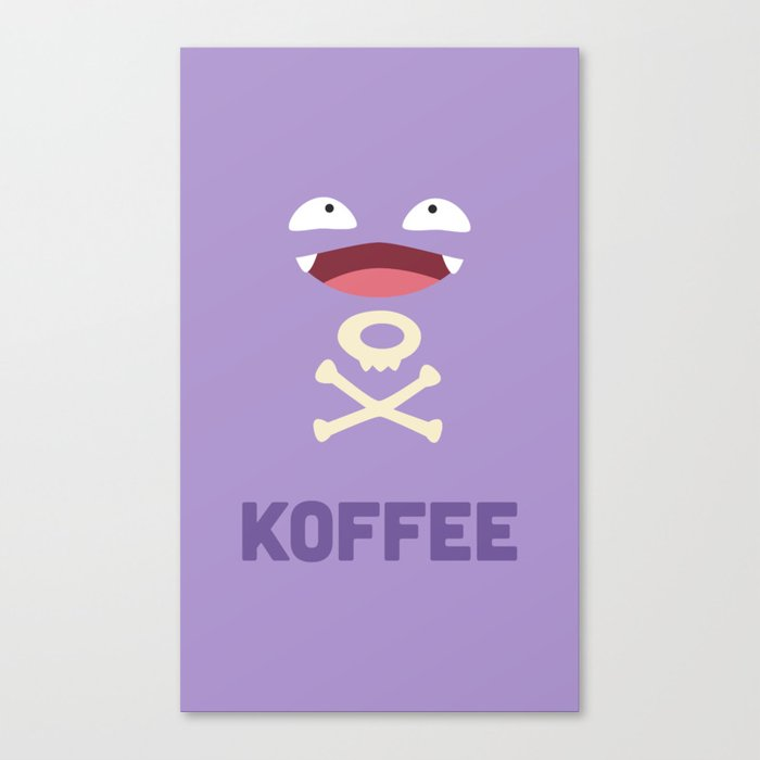 Koffee Leinwanddruck