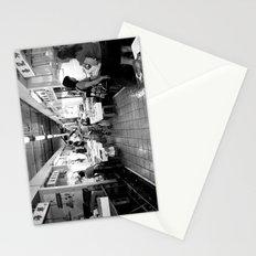 Somethings Fishy [Black & White] Stationery Cards
