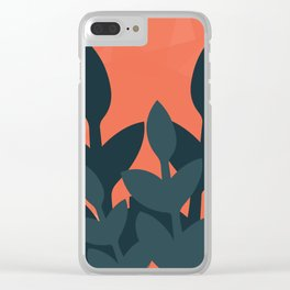 Plant Pop Clear iPhone Case