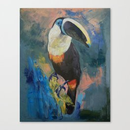 Rainforest Toucan Canvas Print