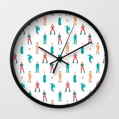 The Land of Bowie Wall Clock