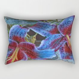 Wild Lilies Rectangular Pillow