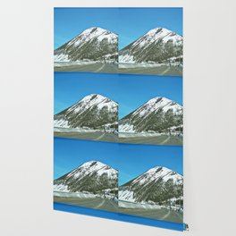 Mont-Saint-Pierre in Winter Wallpaper