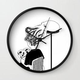 Octopus Salon Wall Clock