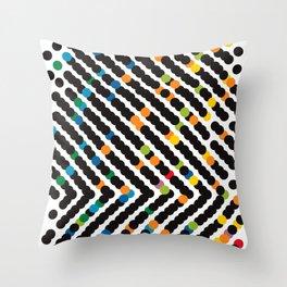 ARROW - dots Throw Pillow