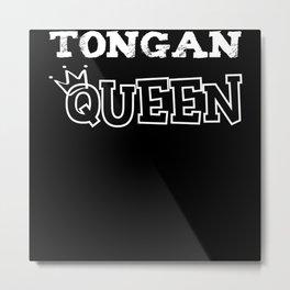 Tongan Queen Metal Print
