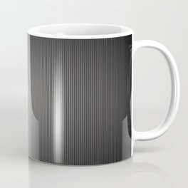 Carbon Stripe Pattern Coffee Mug